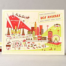 Happy Holidays from Los Angeles Set of 6