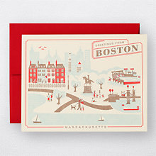 Greetings from Boston Set of 6: HL-806S