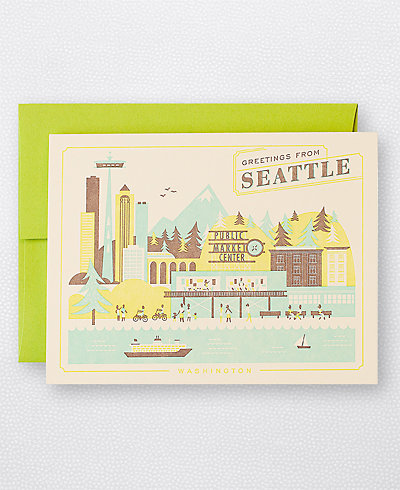 Visit Seattle - Set of 6