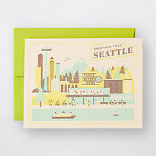 Visit Seattle - Set of 6: HL-846s