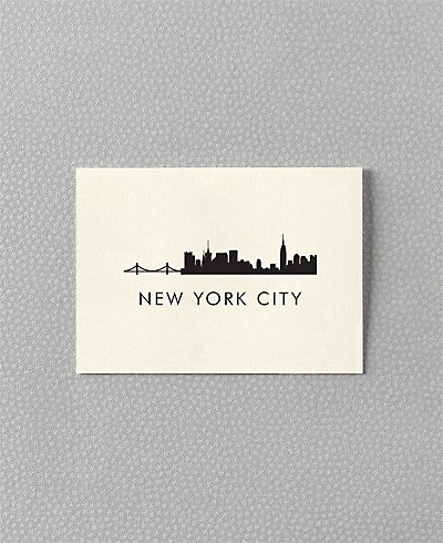 New York City Skyline - Set of 6