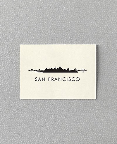 San Francisco Skyline - Set of 6