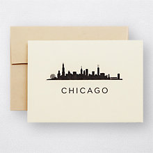 Chicago Skyline Set of 6: HL-924s