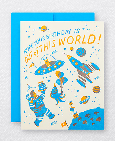 Space Birthday