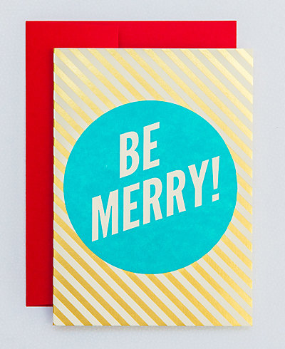 Be Merry Stripes - Set of 6