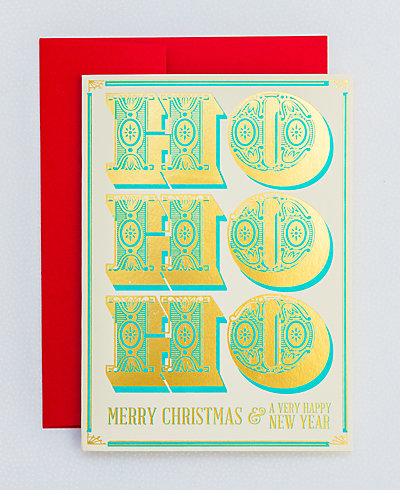 Ho, Ho, Ho - Set of 6