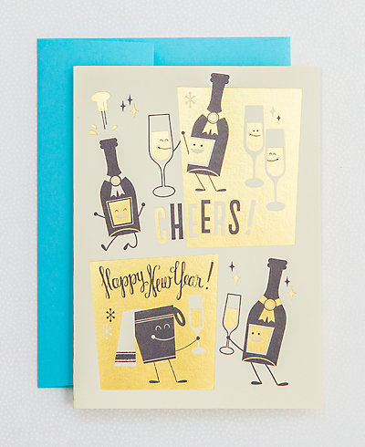 New Years Cheers - Set of 6