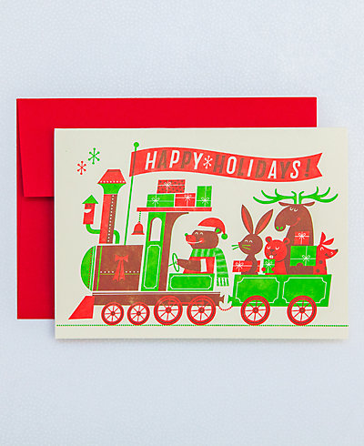 Christmas Train - Set of 6