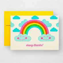 Rainbow Thanks Set of 6: HL-954s