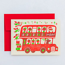London Bus Christmas Set of 6