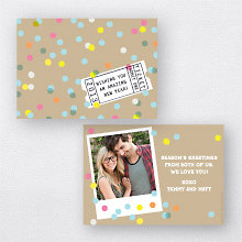 Amazing New Year: Christmas Photo Card