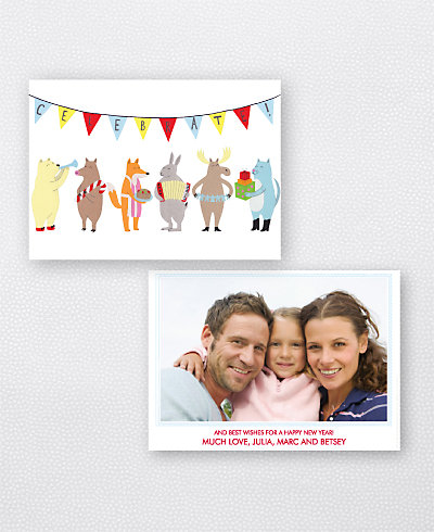 Celebration Holiday Photo Card