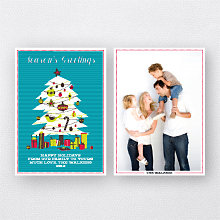 Christmas Tree: Holiday Photo Card