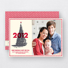 Classic Christmas: Holiday Photo Card
