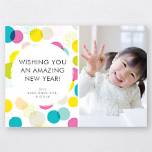 Confetti: Holiday Photo Card
