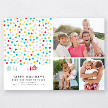 Confetti Snow: Holiday Photo Card
