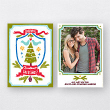 Crest: Holiday Photo Card