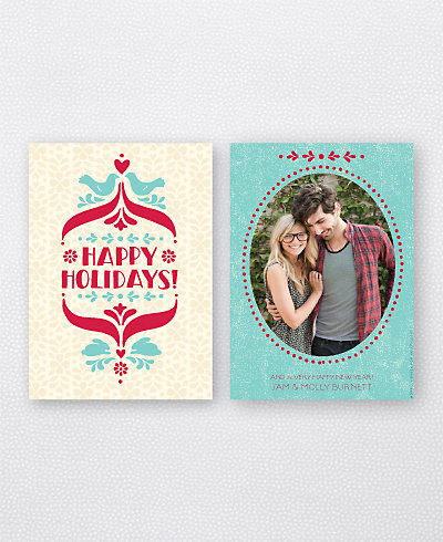 Folk Tales Holiday Photo Card