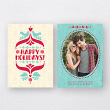 Folk Tales: Holiday Photo Card