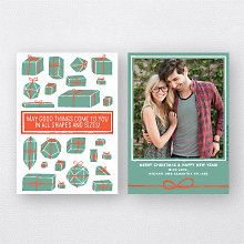 Geo Gifts: Holiday Photo Card
