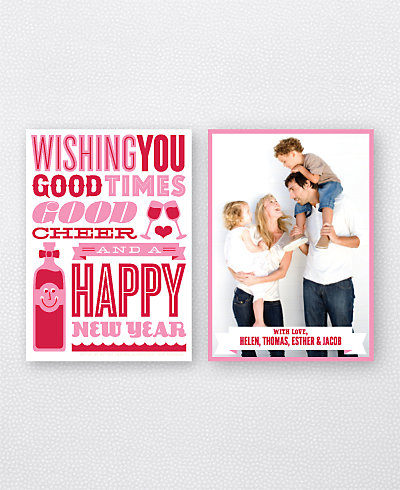 Good Cheer Holiday Photo Card