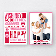 Good Cheer: Holiday Photo Card