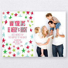 Happy Stars: Holiday Photo Card
