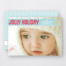 Jolly Holiday: Holiday Photo Card