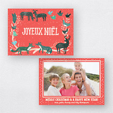 Joyeux Noel Red: Holiday Photo Card