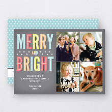 Merry and Bright: Holiday Photo Card