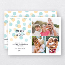 Merry Dots: Holiday Photo Card