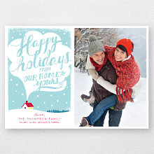 Our Home: Holiday Photo Card