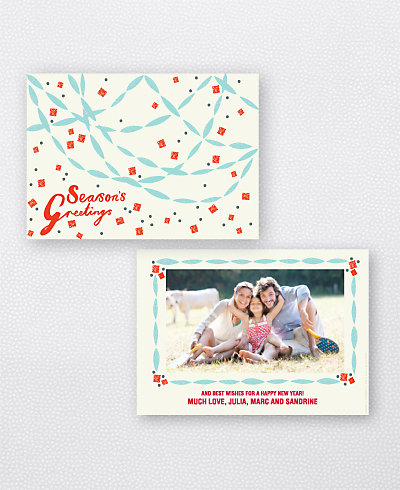 Paper Chains Holiday Photo Card