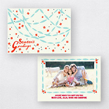 Paper Chains: Christmas Photo Card