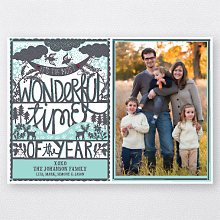 Papercut: Holiday Photo Card