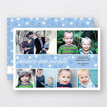 Peaceful Wishes: Holiday Photo Card