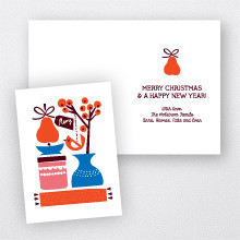 Pear Tree: Christmas Card