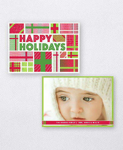 Presents Holiday Photo Card