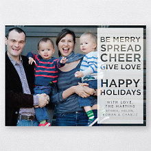 Spread Cheer: Holiday Photo Card