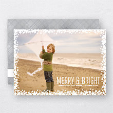 Starlight: Holiday Photo Card