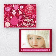 Sweet Holiday: Holiday Photo Card