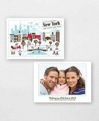 Greetings from New York Holiday Photo Card