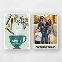 Winter Spices: Holiday Photo Card
