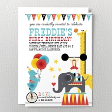 Big Top: Kids Invitation