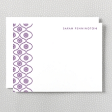 Bohemian: Letterpress Flat Note Card