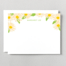 Daisy: Letterpress Flat Note Card