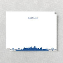 Chicago Skyline: Flat Note Card