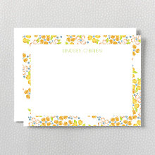 Impatiens: Flat Note Card