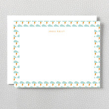 Lightning Bolt: Flat Note Card