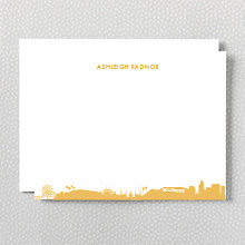 Los Angeles Skyline: Flat Note Card